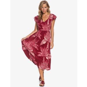NWT Roxy Midi Dress